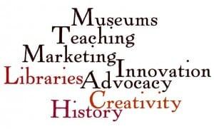 Museum Creativity Word Cloud