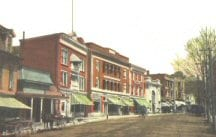 Saranac Lake early street view 02