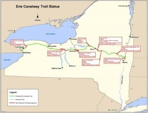 Erie Canal Trail Status 2012