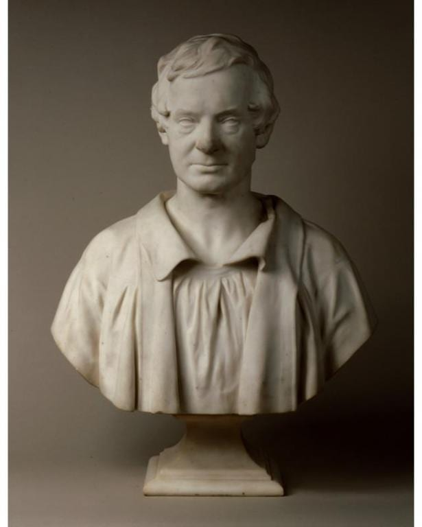 Erastus Dow Palmer, Washington Irving (1783-1859), 1865. Gift of Mrs. Anna T. E. Kirtland, as a memorial to Mr. Jared T. Kirtland, 1865.4