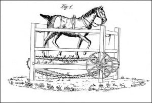 Briggs' 1834 horse treadmill BR