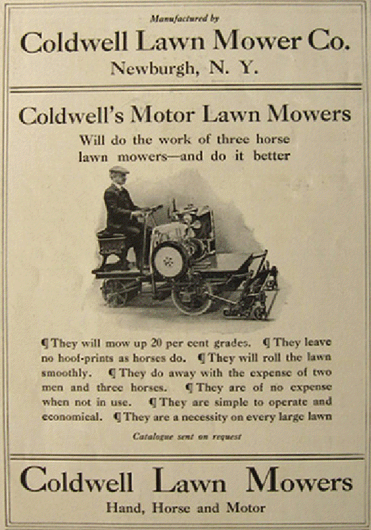 Lawn Mower Company The Mechanical Lawn Mower