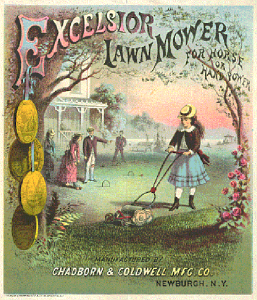 mower ad