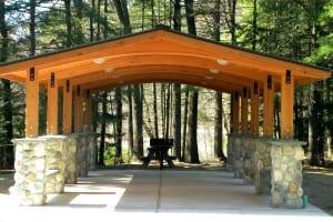 New Moreau State Park Pavillon