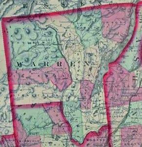 Warren County (Asher and Adams Atlas, 1871)