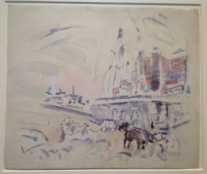 John Marin. 1912. Bernard Goldberg Gallery