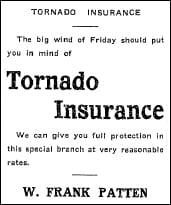 A2 1914 St Lawrence Cty Ad Tornado Ins