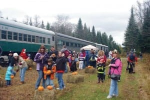 Adirondack Scenic Railroad Pumpkin Train