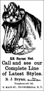 1902 AD Horse Hats Ti