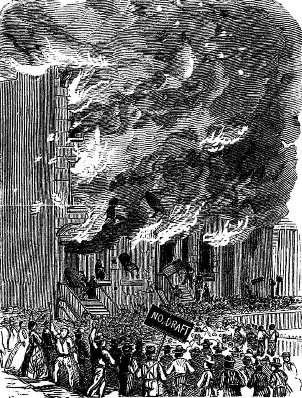 a history on the draft riots in new york city in 1863 Marlon e carter talks about the history and recent renovations  the new york  city draft riots of july 13-16, 1863, were by some measures.