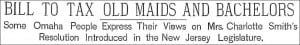 04 Bachelor Tax Headline 1898