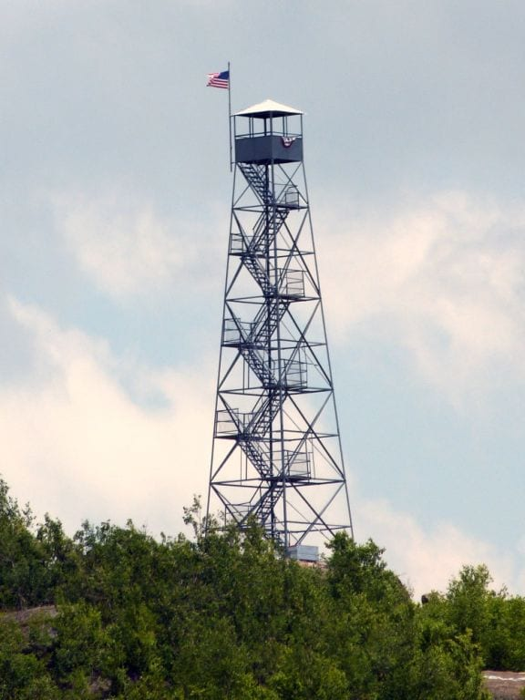 Rehabilitated Mount Beacon Fire Tower Re Opens The New