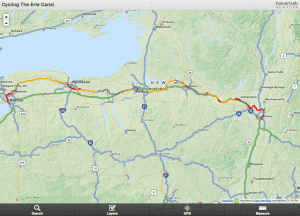 Erie Canalway Interactive Map