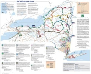 New York State Byways Map