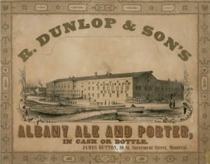 Dunlap and Sons Albany Ale Brewers