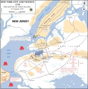 Battle of Brooklyn Map