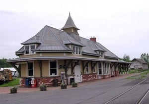Fort Edward Train Station (Amtrak Photo)