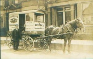 borden horse and buggie