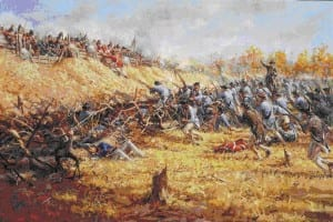 Battle of Bemis Heights (Courtesy of southwilliamstown (dot) org)