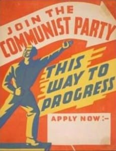 Communist Party Recruitment Poster