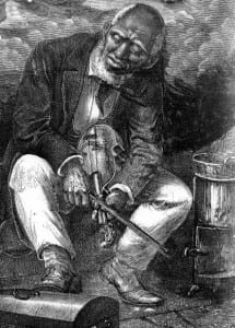 Early African American Fiddler