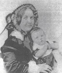Elizabeth Cady Stanton in 1857