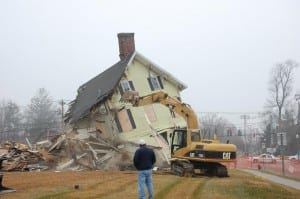 Jackson House Demolition