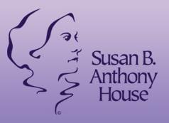 Susan B Anthony House Logo