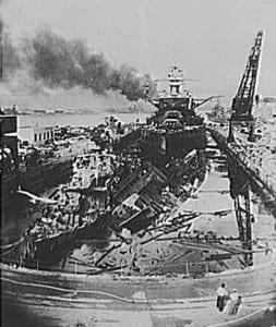USS Cassin Pearl Harbor