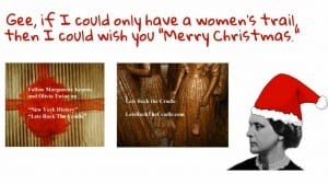 Appeal to Santa for a women's trail