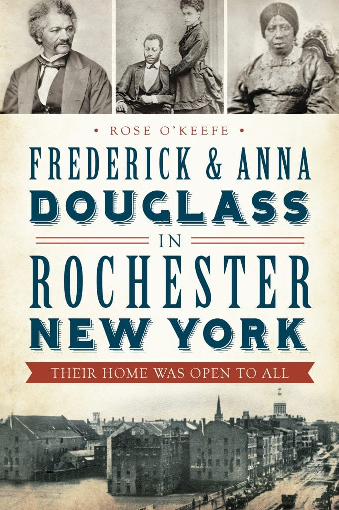 new book frederick douglass family life in rochester the new