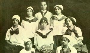 "The ""New York Girls,"" 1910"