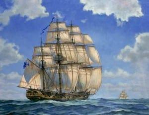 American Revolution Ships