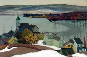 Louise Upton Brumback, Grey Day, Gloucester, 1920