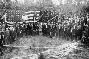The Monument at Olustee Battlefield Historic State Park was dedicated October 23, 1912