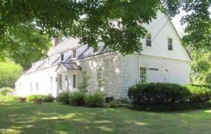The Osterhoudt house