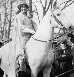 11399r-Inez on horse
