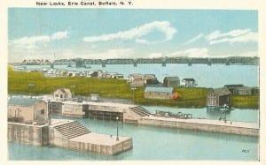 New Locks, Erie Canal, Buffalo, N.Y.