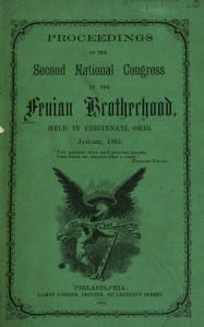 Fenian meeting cover