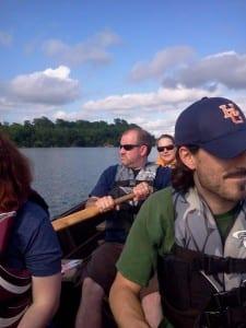 Rowing a Bateau