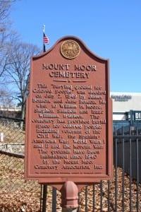 Mount Moor Historical Marker