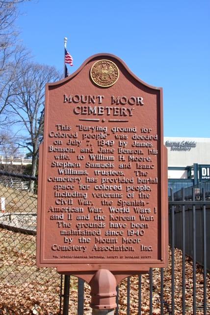 Mount Moor: Nyack's Segregated Cemetery - The New York History Blog