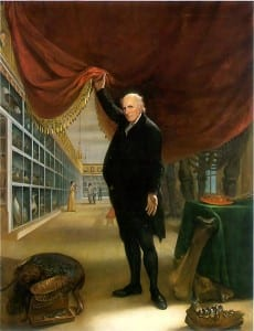 Peale The Artist in His Museum