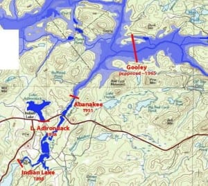 Proposed Upper Hudson River Dams