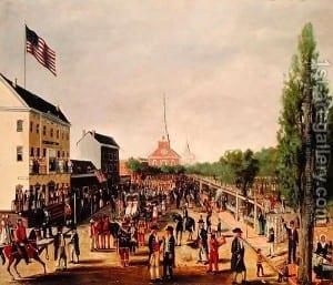 Tammany-Society-Celebrating-The-4th-Of-July,-1812,-1869