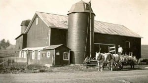 Pelholm barn with Ezra Pells