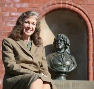 Debra Elmegreen and Professor Maria Mitchell by Suzanne Schnittman