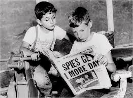 Michael & Robby Rosenberg, 1953