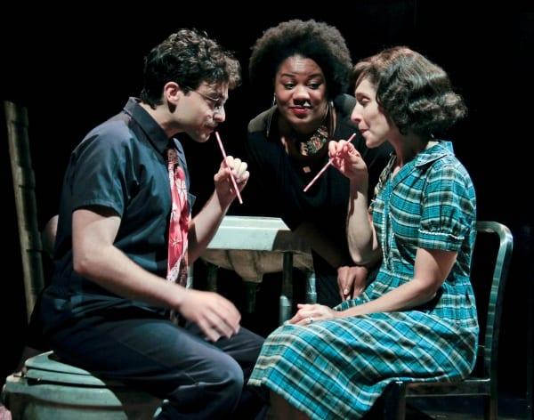 Ari Butler, Adrienne Moore, Tracy Michaelidis. Ethel Sings.