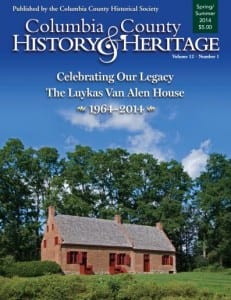 Columbia County History and Heritage Magazine
